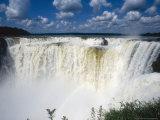 Iguassu Falls, Devils Gorge, South America Fotografisk tryk af Mary Plage