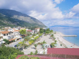 Kefalonia, the Beach at Poros Photographic Print by Ian West