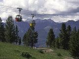 A Small Cablecar in Colorado Reproduction photographique par Michael Brown