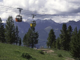 A Small Cablecar in Colorado Fotografie-Druck von Michael Brown