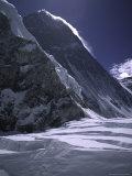 The Southside of Everest, Nepal Reproduction photographique par Michael Brown