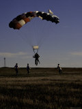 Skydiver Landing, USA Photographic Print by Michael Brown