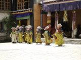 Celebration, Tibet Fotografie-Druck von Michael Brown