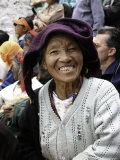 Old Woman, Tibet Reproduction photographique par Michael Brown