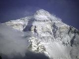 Mount Everest Northside, Tibet Reproduction photographique par Michael Brown