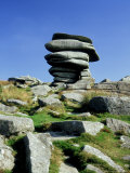 The Cheesewring, Bodmin Moor, UK Photographic Print by Ian West