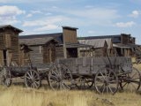 Old Trail Town, Cody, Wyoming, USA Lámina fotográfica