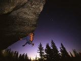 Karl's Overhang Donner Summit, California, USA Fotografisk tryk