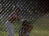 Little League Ball Players Photographic Print