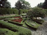 Elizabethan Garden, North Carolina, USA Lámina fotográfica