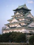 Osaka Castle, Osaka, Honshu, Japan Lámina fotográfica