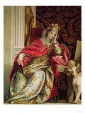 Portrait of Saint Helena Giclée-Druck von Paolo Veronese