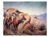 Apache Ambush Giclee Print by Frederic Sackrider Remington