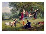 Sunday, 1884 Giclee Print by Alexei Korsuchin