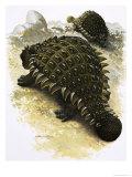 Ankylosaurus Lámina giclée por Francis Phillipps