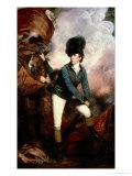 Colonel Banastre Tarleton Giclee-trykk av Sir Joshua Reynolds