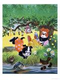 The Jolly Dogs Lámina giclée por Francis Phillipps
