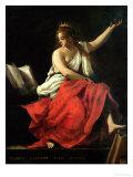 Calliope, Muse of Epic Poetry Giclée-vedos tekijänä Giovanni Baglione