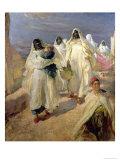 Tunisian Women Gicléetryck av Edgar Bundy