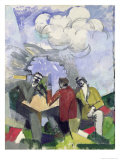 The Conquest of the Air, 1913 Giclee-trykk av Roger de La Fresnaye