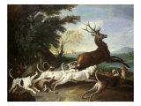 The Deer Hunt, 1718 Giclee Print by Alexandre-Francois Desportes