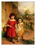 Little Villagers, 1869 Giclee Print by George Smith