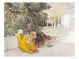 The Princess of Bengal, c.1889 Giclee Print by Edwin Lord Weeks