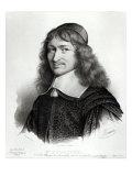 Portrait of Nicolas Fouquet Reproduction procédé giclée par Robert Nanteuil