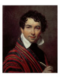 Self Portrait, 1828 Giclee Print by Orest Adamovich Kiprensky