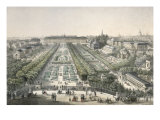 View of the Jardin Des Plantes, Paris Giclee Print by Charles Riviere
