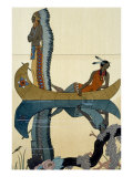 On the Missouri, 1922 Giclee Print by Georges Barbier