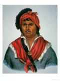 Neamathla Chief, 1826 Giclee Print by Charles Bird King