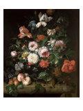 Still Life with Flowers Giclee-trykk av Rachel Ruysch