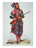 Chief Tukosee Mathla, 1826 Giclee Print by Charles Bird King
