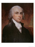James Madison Reproduction procédé giclée par George Peter Alexander Healy