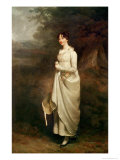 Portrait of Maria. B. Fox Giclee Print by Sir William Beechey