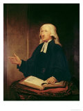 Portrait of John Wesley Giclee Print by William Hamilton