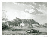 Harbour of Rio Janiero, with the Benedictine Monastery Giclee Print by William Wilson