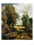 The Cornfield, 1826 Giclée-tryk af John Constable