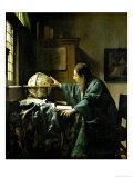 The Astronomer, 1668 Lámina giclée por Johannes Vermeer