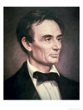Abraham Lincoln Reproduction procédé giclée par George Peter Alexander Healy