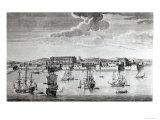 Bombay on the Malabar Coast Belonging to the East India Company of England, 1754 Giclee Print by Jan Van Ryne