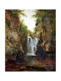 Bish Bash Falls, 1855-60 Giclee Print by John Frederick Kensett