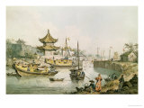 The Grand Canal, China Giclee Print by William Alexander
