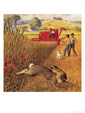 Harvest Time Giclee Print by Ronald Lampitt