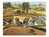 The Farmer's Life Giclee Print by Ronald Lampitt