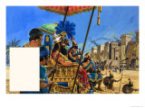 Babylon the Mighty: under the Assyrian Heel Giclee Print by Roger Payne