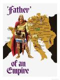 Charlemagne Reproduction procédé giclée