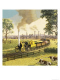 The Industrial Revolution Giclee Print by Ronald Lampitt
