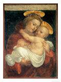 Madonna med barnet Giclée-tryk af Fra Bartolommeo